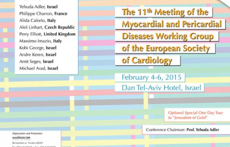 The 11th Meeting of the Myocardial and Pericardial Diseases Working Group of the European Society of Cardiology