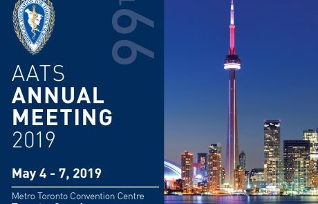 AATS 99th Annual Meeting , May 4-7, 2019 , טורונטו קנדה