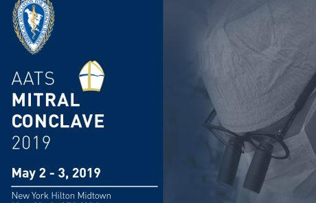 AATS Mitral Conclave , May 2-3, 2019 , ניו יורק
